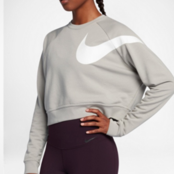 Women's Nike Dry Versa Crop Training Shirt